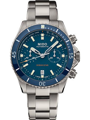 Mido Herrenuhr Ocean Star Captain M0266274404100