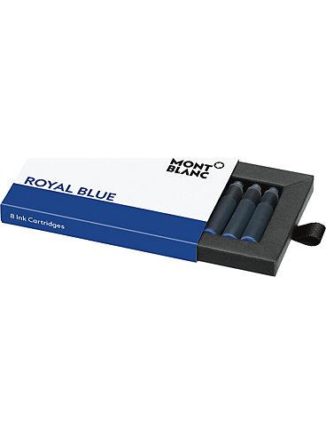 Montblanc Tintenpatronen, Royal Blue Tinte 105193