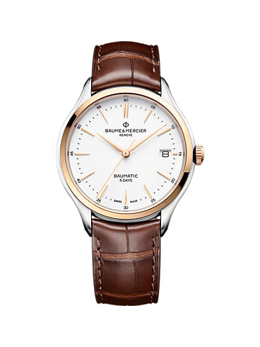 Baume & Mercier Herrenuhr Clifton Baumatic M0A10401
