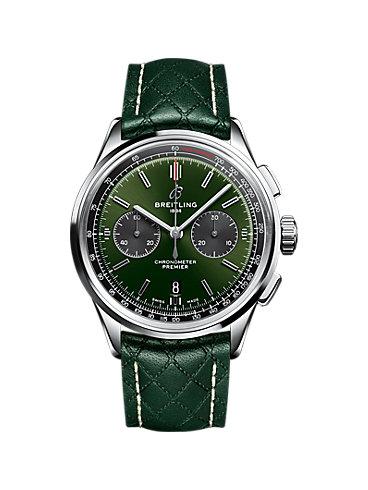 Breitling Chronograph Premier B01 Chronograph 42 Bentley British Racing Green AB0118A11L1X1