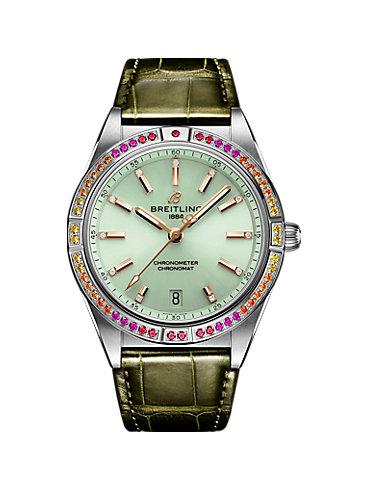 Breitling Damenuhr Chronomat 36 A10380611L1P1