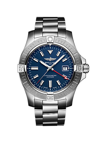 Breitling Herrenuhr Avenger Automatic Gmt 45 A32395101C1A1