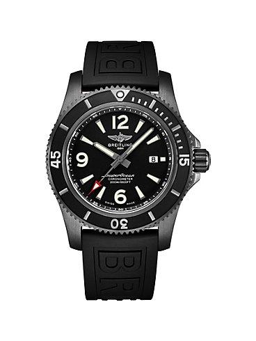 Breitling Herrenuhr Superocean Automatic 46 Black Steel M17368B71B1S1