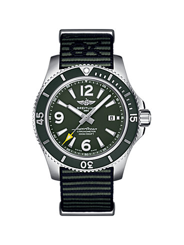 Breitling Herrenuhr Superocean II 44 Outerknown A17367A11L1W1