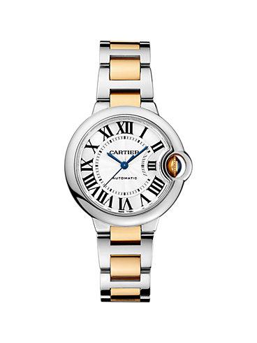 Cartier Damenuhr Ballon Blanc de Cartier W2BB0002
