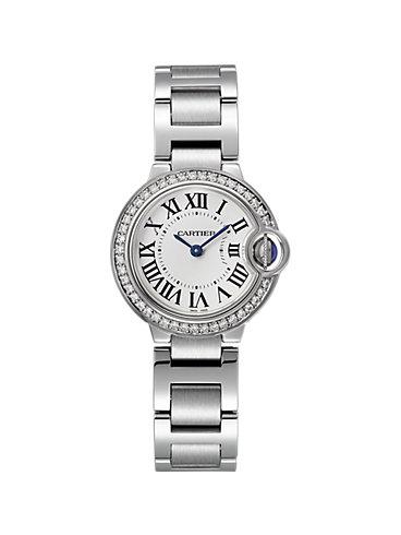 Cartier Damenuhr Ballon Blanc de Cartier W4BB0015