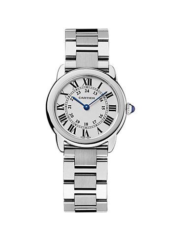 Cartier Damenuhr Ronde Solo W6701004