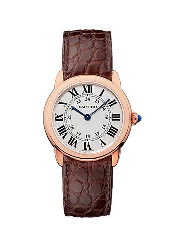 Cartier Damenuhr Ronde Solo W6701007