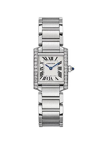 Cartier Damenuhr Tank  Francaise  W4TA0008