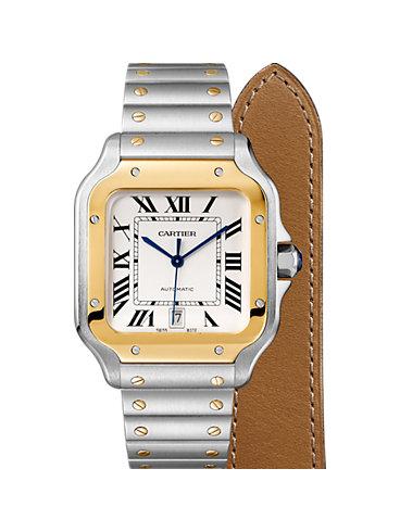 Cartier Herrenuhr Santos de Cartier W2SA0006