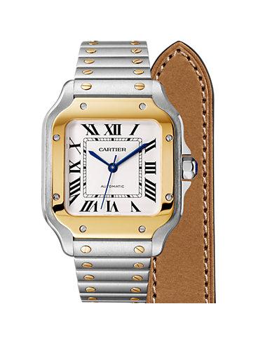 Cartier Herrenuhr Santos de Cartier W2SA0007