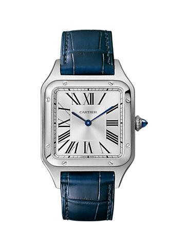 Cartier Unisexuhr Santos de Cartier WSSA0022