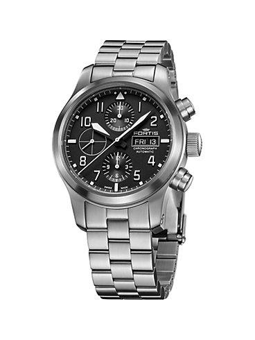 Fortis Chronograph Aeromaster Steel Chronograph 656.10.10