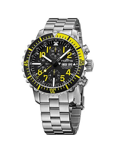 Fortis Chronograph Marinemaster Yellow Chrono 671.24.14