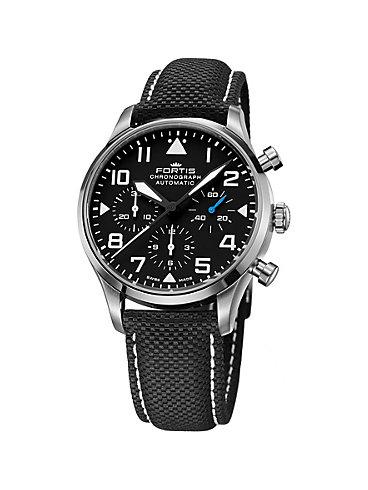 Fortis Chronographled Pilot Classic Chrono 904.21.41