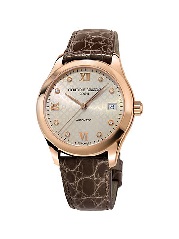 Frederique Constant Damenuhr Ladies Automatic FC-303LGD3B4