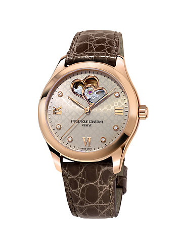 Frederique Constant Damenuhr Ladies Automatic FC-310LGDHB3B4