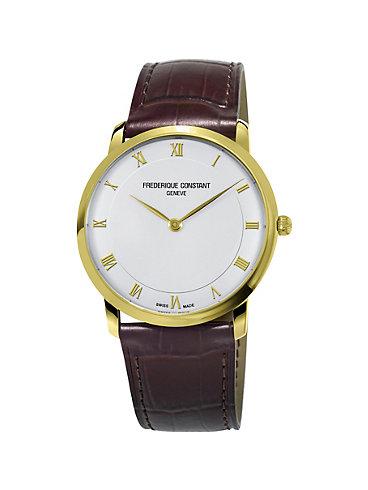 Frederique Constant Herrenuhr Slimline FC-200RS5S35