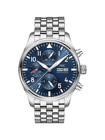 IWC Herrenuhr Pilot's Watch Chronograph Edition Le Petit Prince IW377717