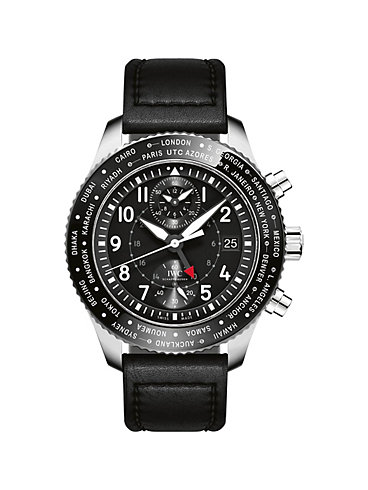 IWC Herrenuhr Pilot's Watch Timezoner Chronograph IW395001