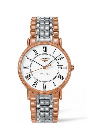 Longines Herrenuhr Elegance Présence L49211117