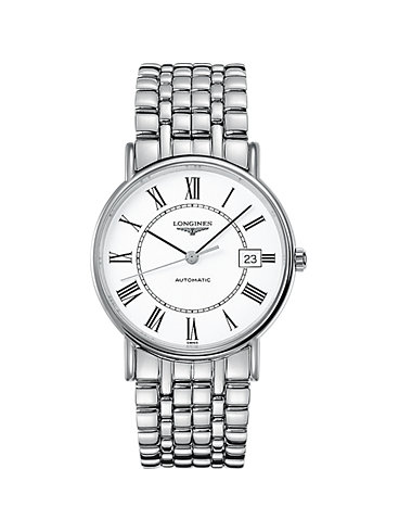 Longines Herrenuhr Elegance Présence L49214116