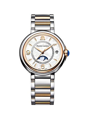 Maurice Lacroix Damenuhr Fiaba Date Moonphase FA1084-PVP13-150-1