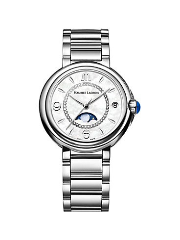 Maurice Lacroix Damenuhr Fiaba Date Moonphase FA1084-SS002-170-1