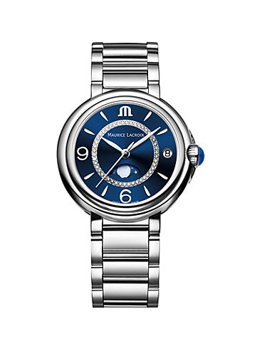 Maurice Lacroix Damenuhr Fiaba Date Moonphase FA1084-SS002-420-1