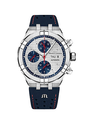 Maurice Lacroix Herrenuhr Aikon Chronograph Day Date AI6038-SS001-133-1