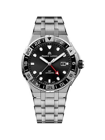 Maurice Lacroix Herrenuhr Aikon Venture GMT AI6158-SS002-330-1
