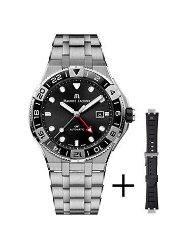 Maurice Lacroix Uhren-Set Aikon AI6158-SS00F-330-A
