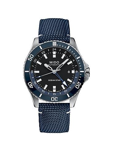 Mido Herrenuhr Ocean Star GMT M0266291705100