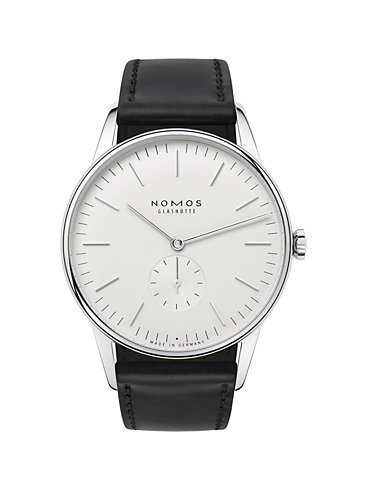 Nomos Glashütte Herrenuhr Orion 38 386