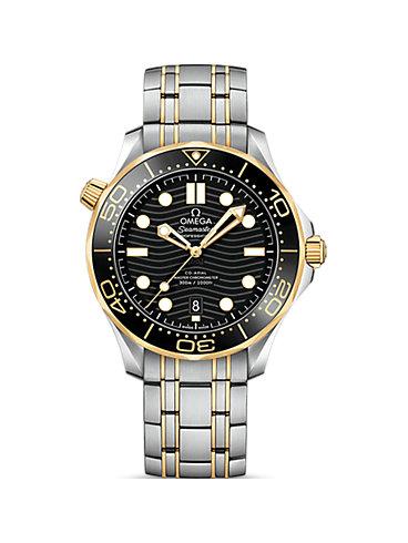 Omega Herrenuhr Seamaster Diver 300M O21020422001002