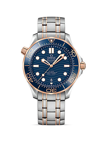 Omega Herrenuhr Seamaster Diver 300M O21020422003002