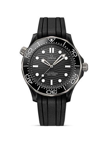 Omega Herrenuhr Seamaster Diver 300M O21092442001001