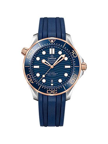 Omega Herrenuhr Seamaster Diver O21022422003002