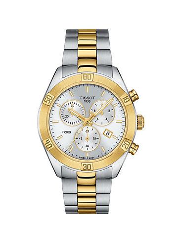 Tissot Chronograph PR 100 Sport Chic Chronograph T1019172203100