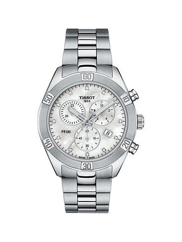 Tissot Chronograph PR100 Sport Chic T1019171111600