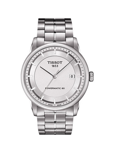 Tissot Herrenuhr Luxury Powermatic 80 T0864071103100