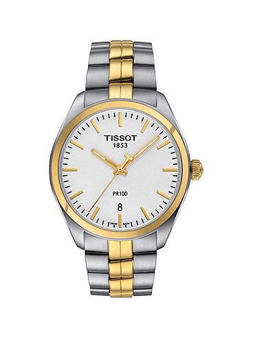 Tissot Herrenuhr PR 100 Classic T101.410.22.031.00