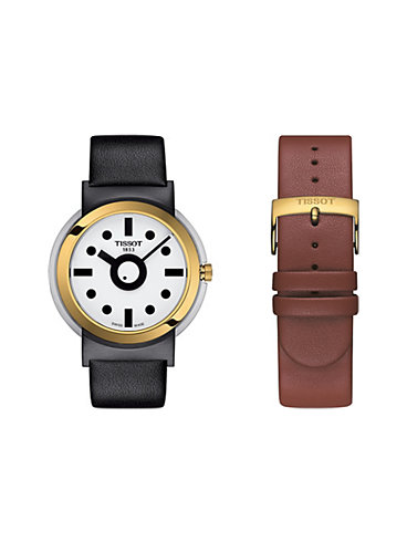 Tissot Uhren-Set Heritage Memphis Gent T1344102701100