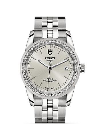 Tudor Damenuhr Glamour Date M55020-0004