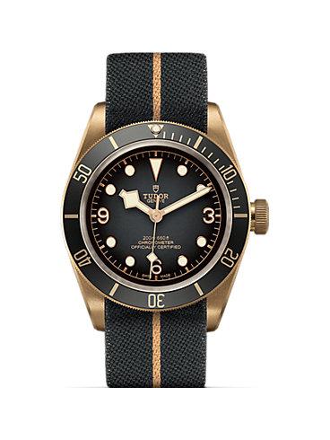 Tudor Herrenuhr Black Bay Bronze M79250BA-0002
