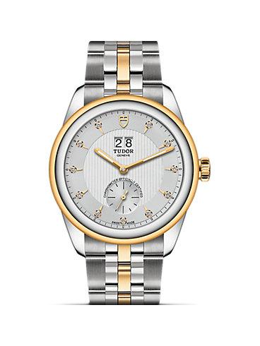 Tudor Herrenuhr Glamour Double Date M57103-0005