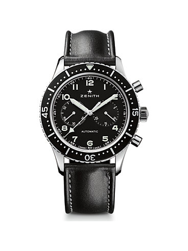 Zenith Chronograph Pilot Chronometro Tipo Heritage Revival 03.2240.4069/21.C774