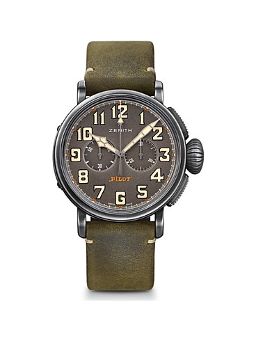 Zenith Chronograph Pilot Heritage Ton-Up 11.2430.4069/21.C773