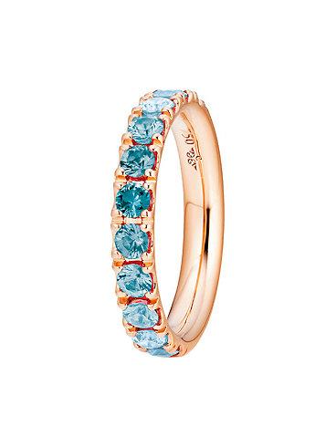 Capolavoro Memoire Ring Rainbow RI9SMC02730.BLAU